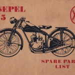 Csepel 125/49 parts catalogue