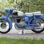 Pannonia niebieska, kék, blue, baby blue